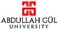 Abdullah Gul University Logo.jpg