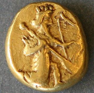Persian daric ancient Persian golden coin