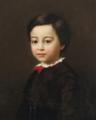 Adalbert Begas - Portrait of a boy - 1865.png