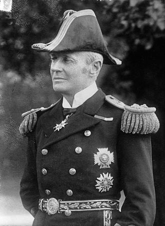 Arthur Dalrymple Fanshawe - Admiral Air Arthur Fanshawe c.1908