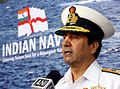 Admiral RK Dhowan addressing the 2014 Naval Commanders' Conference.JPG