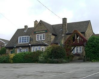 Loxley, South Yorkshire - The Admiral Rodney public house.