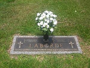 Adras LaBorde - Grave of Adras LaBorde in Alexandria Memorial Gardens