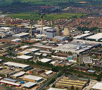 Berkshire - Slough Trading Estate plays a major part in making Slough an important business centre in South East England