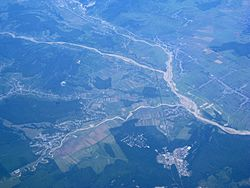 Aerial view of Ploiești