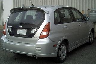 Suzuki Aerio Rear Bumper
