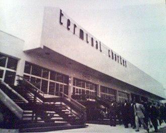 Alicante–Elche Airport - Alicante Airport in 1972