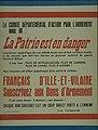 """Affiche """" La Patrie est en danger"""" - Musée de Bretagne - 997.0018.83.jpg"""