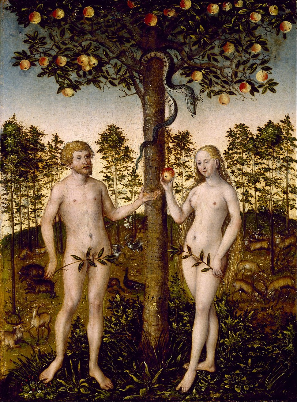After Lucas Cranach the Younger - The Fall of Man - Google Art Project