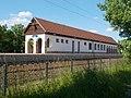 Agárd railway station from Vasút Street, 2017 Gárdony.jpg