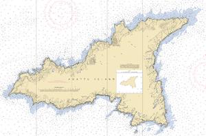 Agattu - Nautical Chart of Agattu Island