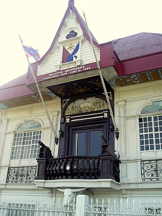 Cavite - Image: Aguinaldo Shrine (Kawit, Cavite)