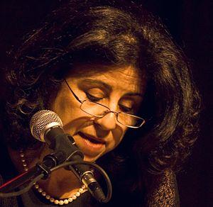 Ahdaf Soueif - Soueif at the Palestine Festival of Literature, 2008
