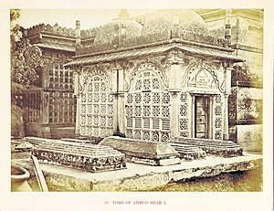 Ahmed Shah's Tomb - Ahmed Shah's Tomb in 1860s