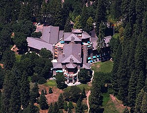 Ahwahnee Hotel in Yosemite National Park as se...