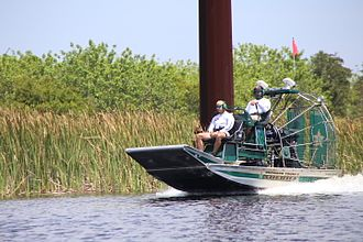 Broward County Sheriff's Office - Airboat
