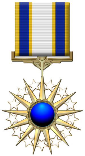 Air Force Distinguished Service Medal cover