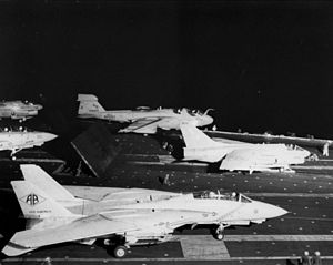 Aircraft on USS America (CV-66) during attacks on Libya 1986.jpeg