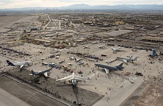 Air show - Aviation Nation 2006 at Nellis Air Force Base, United States