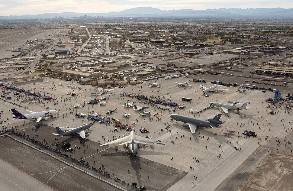 Airshow Nellis AFB
