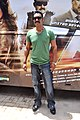 Ajay Devgn at Tezz promotional bus ride (7).jpg