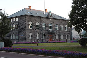 Politics of Iceland - Parliament of Iceland, seat of legislative branch.