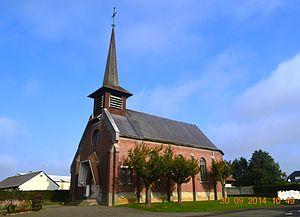 Alaincourt, Aisne - Alaincourt Church