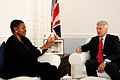 Alan Duncan and Valerie Amos discuss aid for Burma (8744309328).jpg