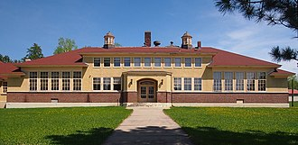 National Register of Historic Places listings in St. Louis County, Minnesota - Image: Alango School