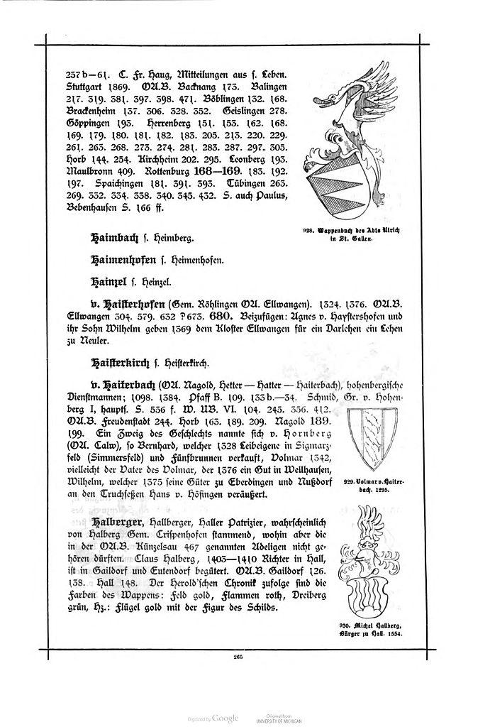 File:Alberti Wuerttembergisches Adels- und Wappenbuch 0265.jpg ...