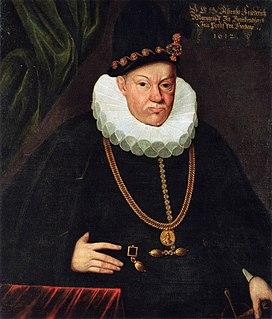 Albert Frederick, Duke of Prussia 16th century Duke of Prussia