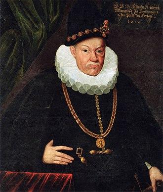 Albert Frederick, Duke of Prussia - Image: Albrecht Friedrich Preußen.1612