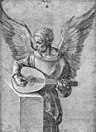 Albrecht Dürer - Winged Man, in Idealistic Clothing, Playing a Lute - WGA07044.jpg