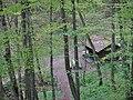 Albtraufgänger, Schutzhütte an der Hossinger Leiter 945 m ü. NN - panoramio.jpg