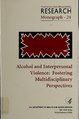 Alcohol and interpersonal violence - fostering multidisciplinary perspectives (IA alcoholinterpers00mart).pdf