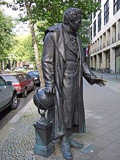 Statue of Alexander von Humboldt (Bläser)