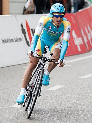 Alexsandr Dyachenko - Dyachenko at the 2010 Tour de Romandie