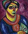 Alexej von Jawlensky - Frau mit grünem Fächer.jpg