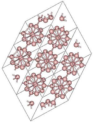 Allotropes of boron