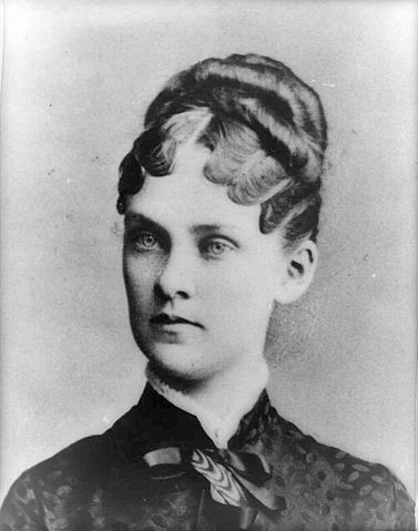 President Theodore Roosevelt's first wife, Alice Hathaway Roosevelt, Library of Congress