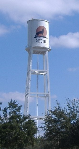Alice, Texas - The water tower in Alice on Hwy 44