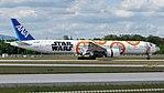 All Nippon Airways (Star Wars - BB-8 livery) Boeing 777-300ER (JA789A) at Frankfurt Airport (15).jpg