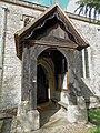 All Saints Church, Middle Claydon, Bucks, England - south porch.jpg