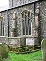 All Saints church in Dickleburgh - churchyard - geograph.org.uk - 1774159.jpg