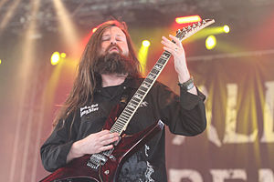 All That Remains (band) - Lead guitarist Oli Herbert (pictured) and vocalist Phil Labonte are the only original members since the band's inception.
