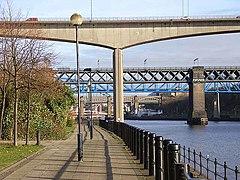All the Tyne bridges - geograph.org.uk - 1051432.jpg