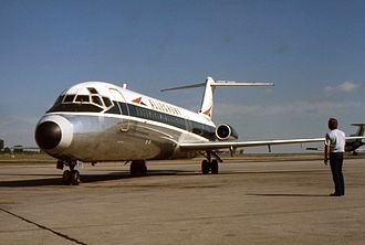 Allegheny Airlines - Allegheny had 36 Douglas DC-9s