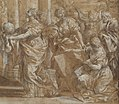 Allegory in Honor of Cardinal Antonio Barberini the Younger (1607-1671) (Design for an Engraving) MET DP144124.jpg