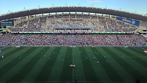 Football at the 2000 Summer Olympics – Men's tournament - Image: Allianz Stadium 13 October 2012