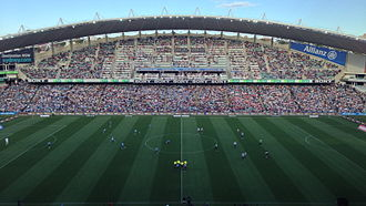 Football at the 2000 Summer Olympics – Women's tournament - Image: Allianz Stadium 13 October 2012